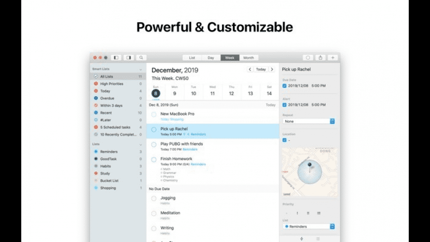 GoodTask for Mac - review, screenshots