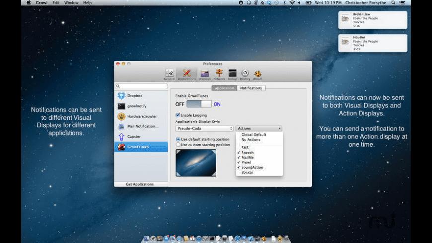 Growl for Mac - review, screenshots