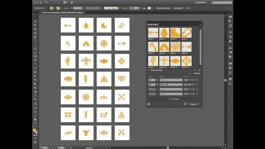 Adobe Illustrator for Mac - review, screenshots