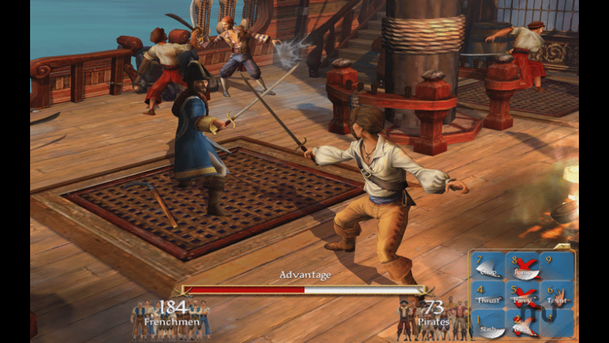 Sid Meier's Pirates! for Mac - review, screenshots