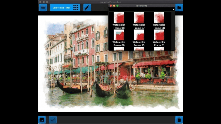 Imagelys Picture Lab for Mac - review, screenshots