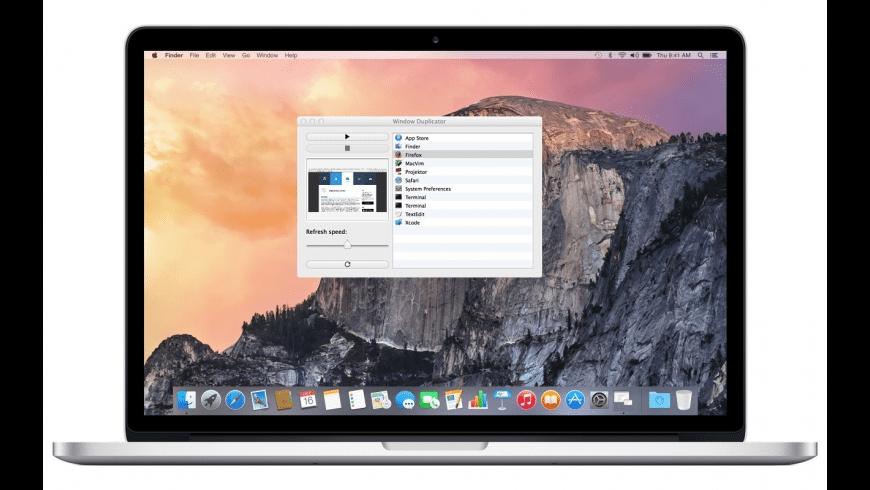 Window Duplicator for Mac - review, screenshots