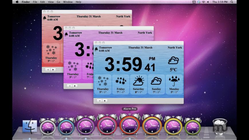 Alarm Pro for Mac - review, screenshots
