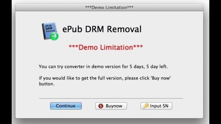 EPub DRM Removal