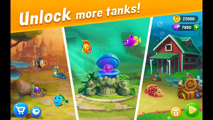 Fishdom for Mac - review, screenshots