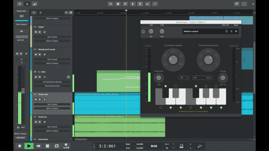 n-Track Studio Suite for Mac - review, screenshots