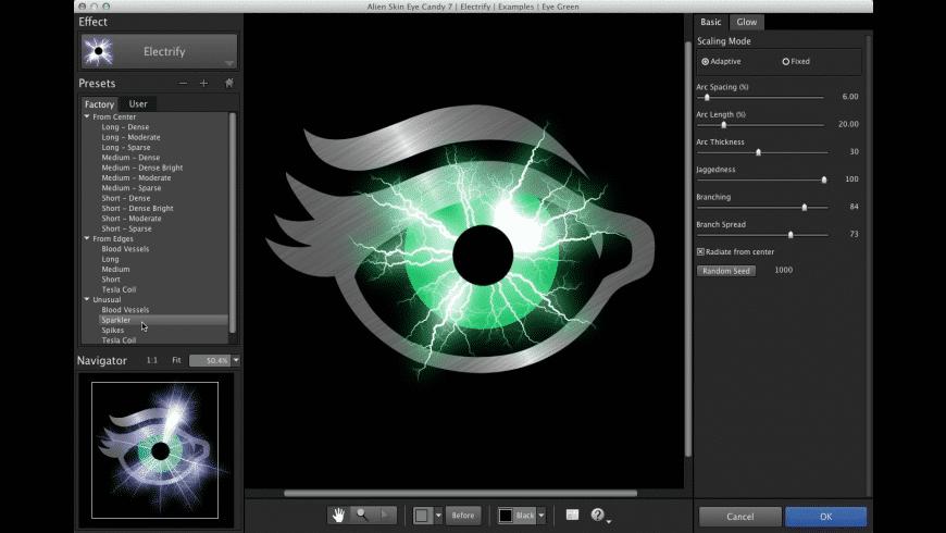 Eye Candy for Mac - review, screenshots