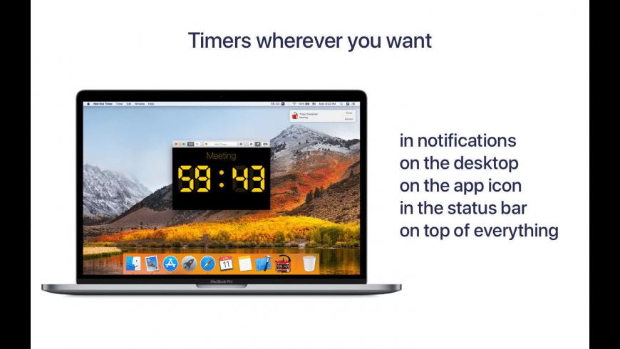 Timer RH for Mac - review, screenshots