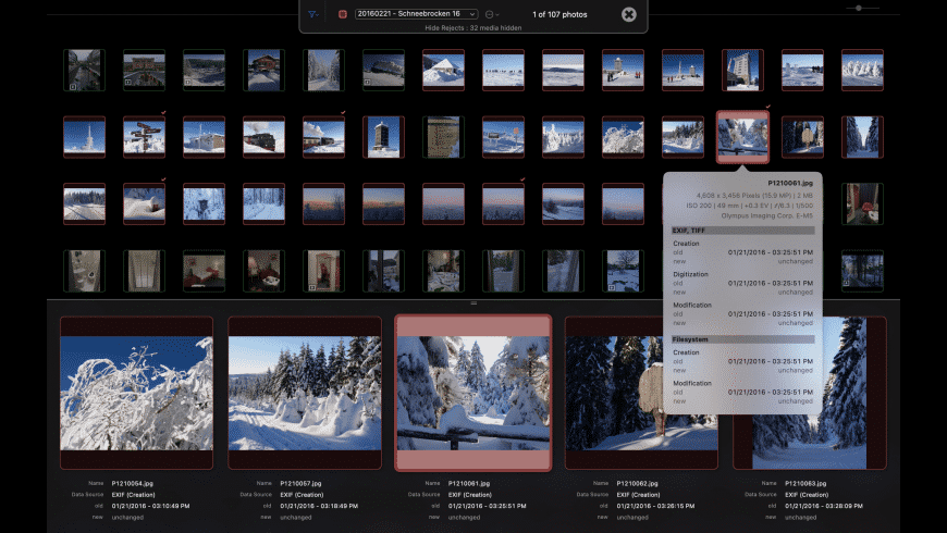 shootShifter for Mac - review, screenshots
