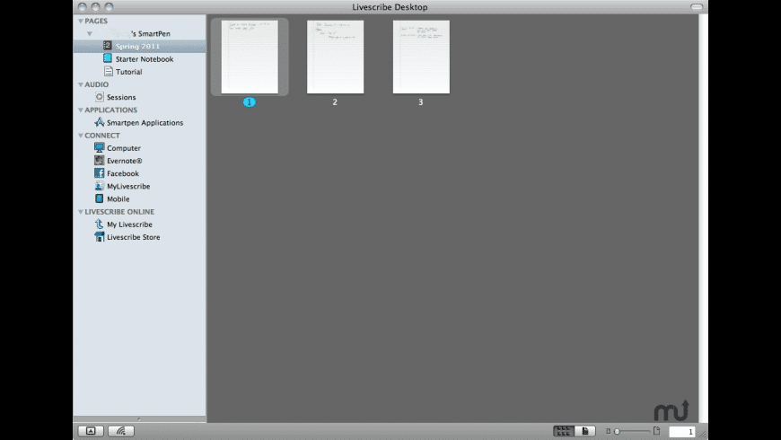 Livescribe Desktop for Mac - review, screenshots