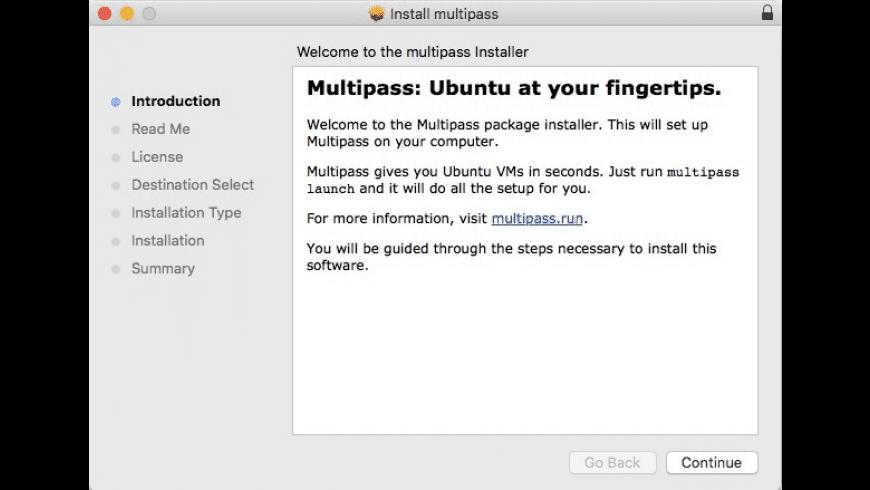 Multipass for Mac - review, screenshots