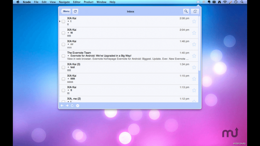 Mailbox for Mac - review, screenshots