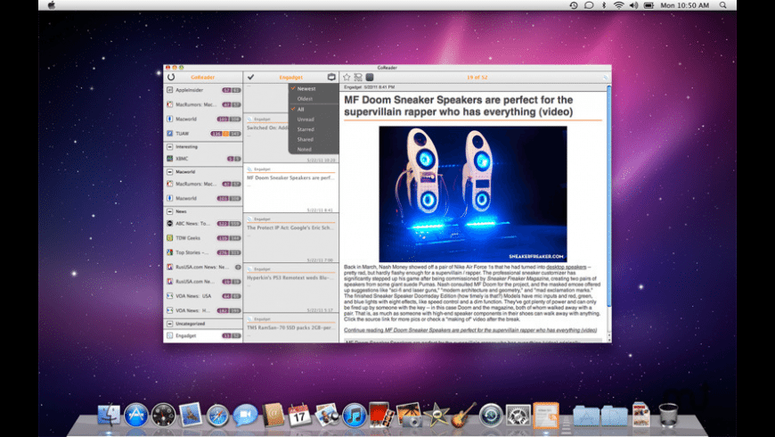 GoReader for Mac - review, screenshots