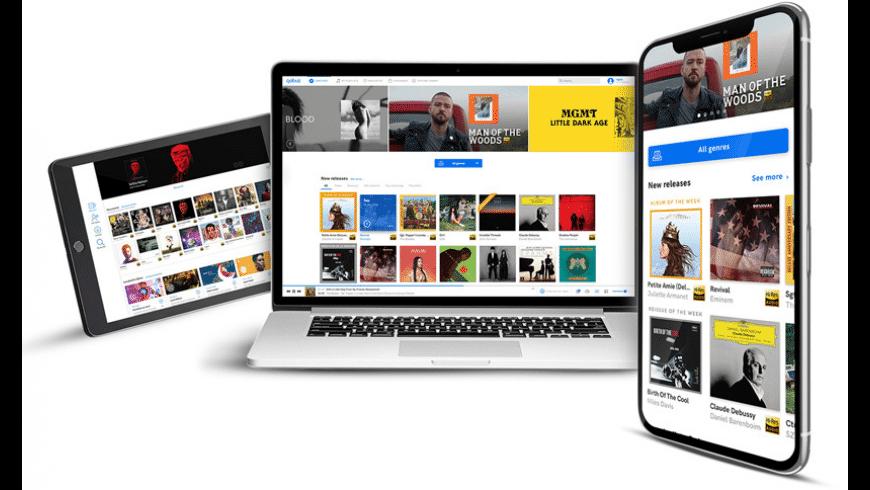 Qobuz for Mac - review, screenshots