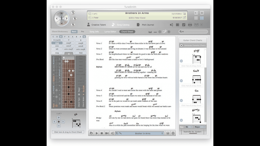 TuneSmith for Mac - review, screenshots