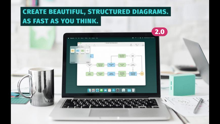 Diagrams for Mac - review, screenshots