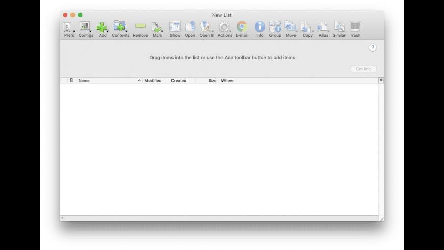 File Buddy for Mac - review, screenshots