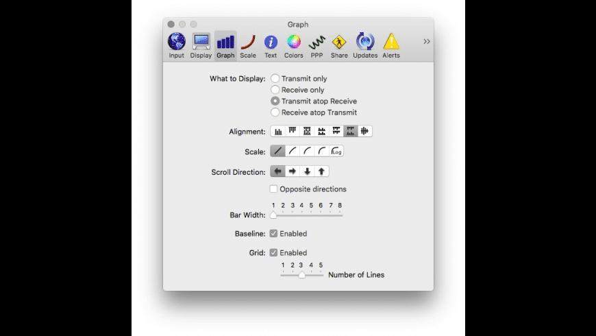 Net Monitor for Mac - review, screenshots