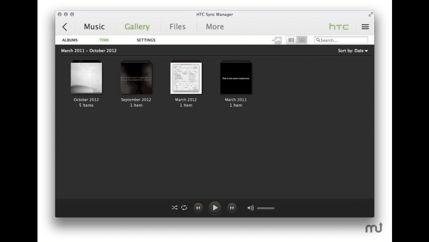 HTC Sync Manager for Mac - review, screenshots