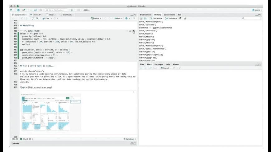 RStudio for Mac - review, screenshots