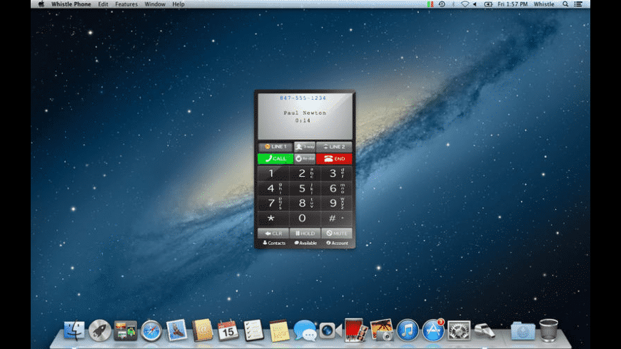 Whistle Phone for Mac - review, screenshots