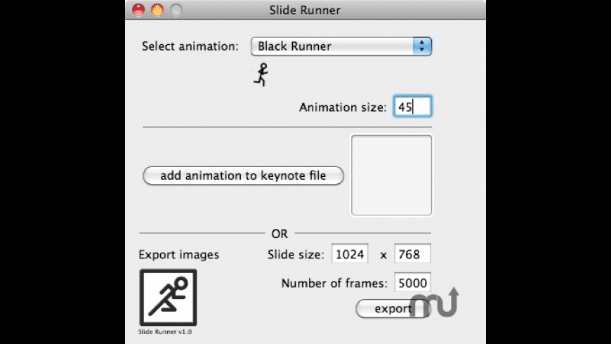 Slide Runner for Mac - review, screenshots