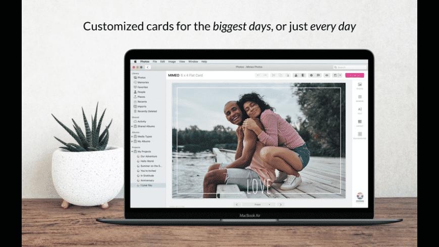 Mimeo Photos for Mac - review, screenshots