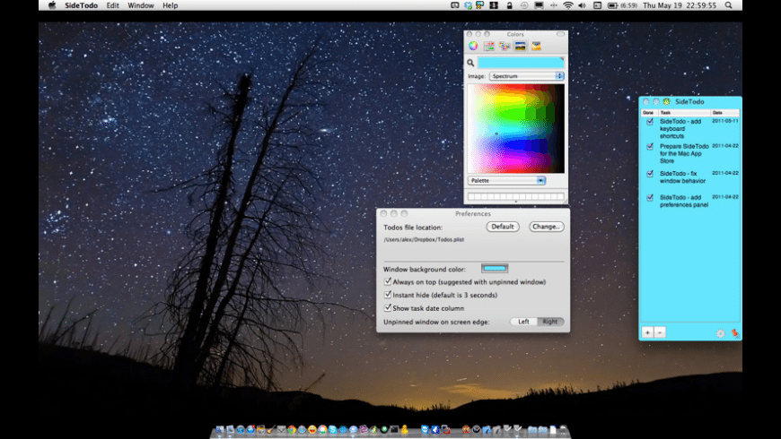 SideTodo for Mac - review, screenshots