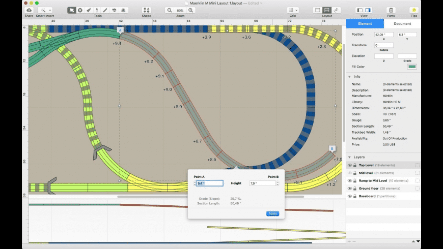 RailModeller Pro for Mac - review, screenshots