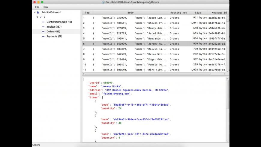 Qu Desktop for Mac - review, screenshots