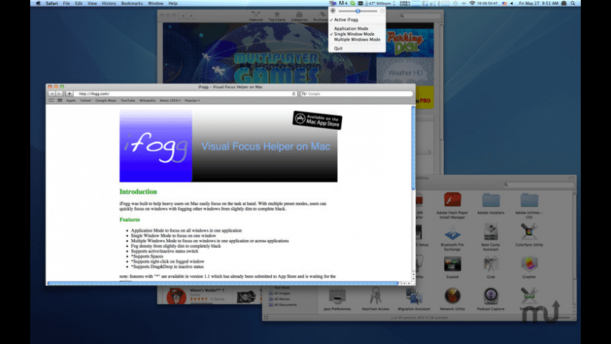 iFogg for Mac - review, screenshots