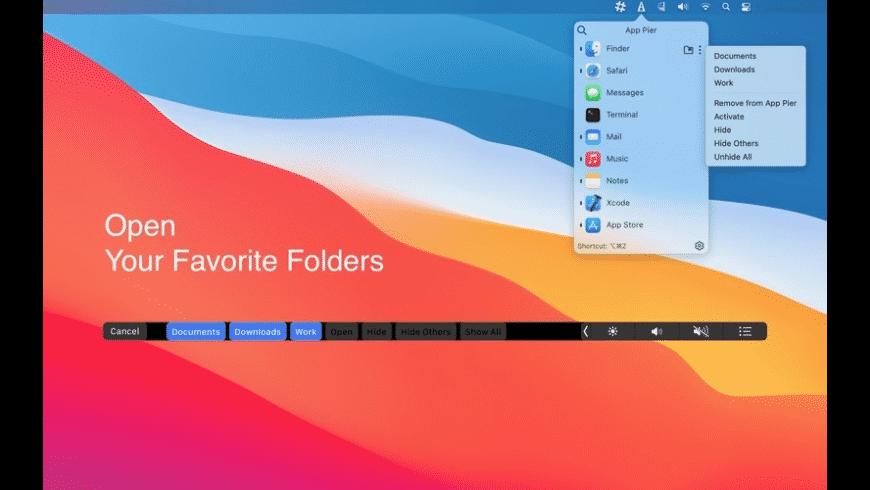 App Pier for Mac - review, screenshots