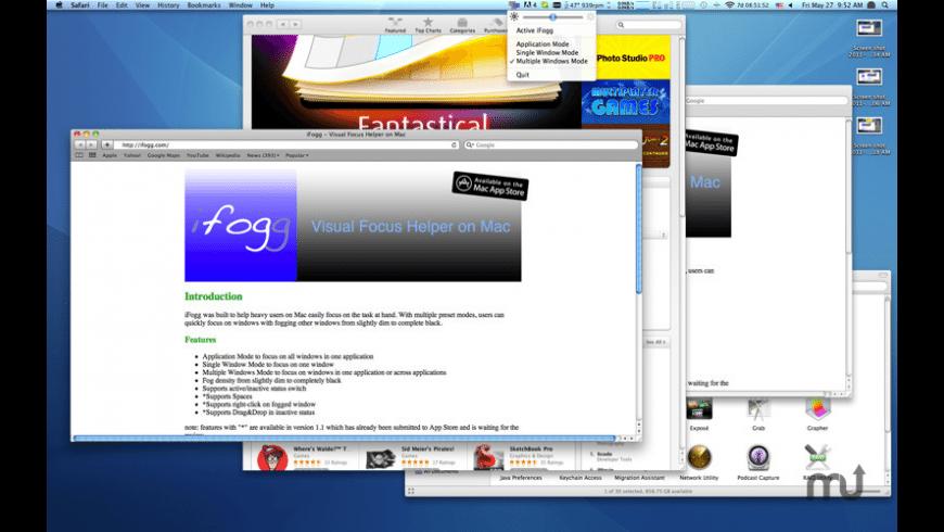 iFogg for Mac - review, screenshots
