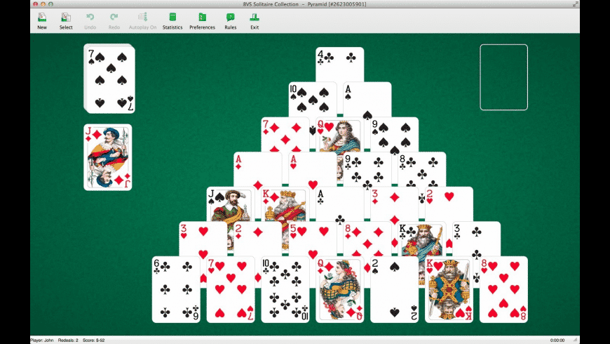 BVS Solitaire Collection for Mac - review, screenshots