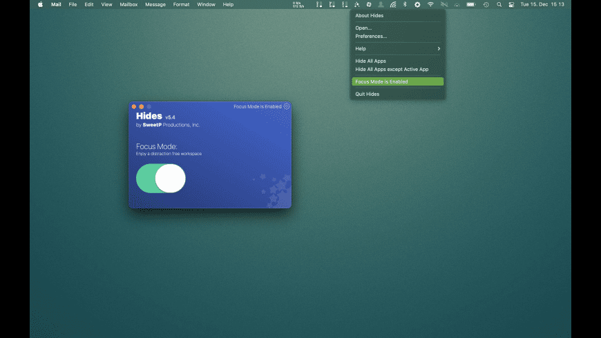 Hides for Mac - review, screenshots
