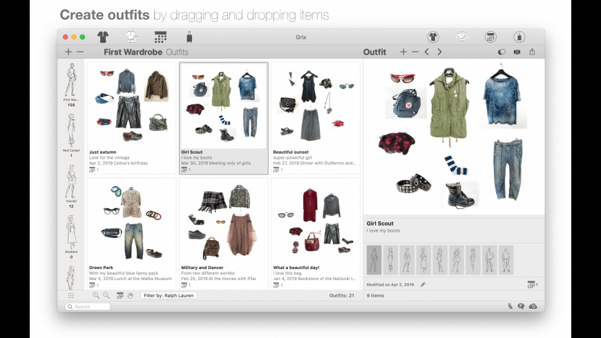 Dress Assistant for Mac - review, screenshots