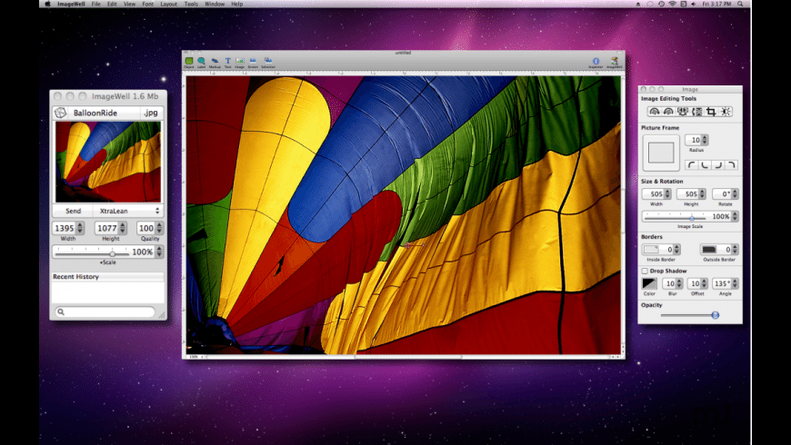 ImageWell for Mac - review, screenshots