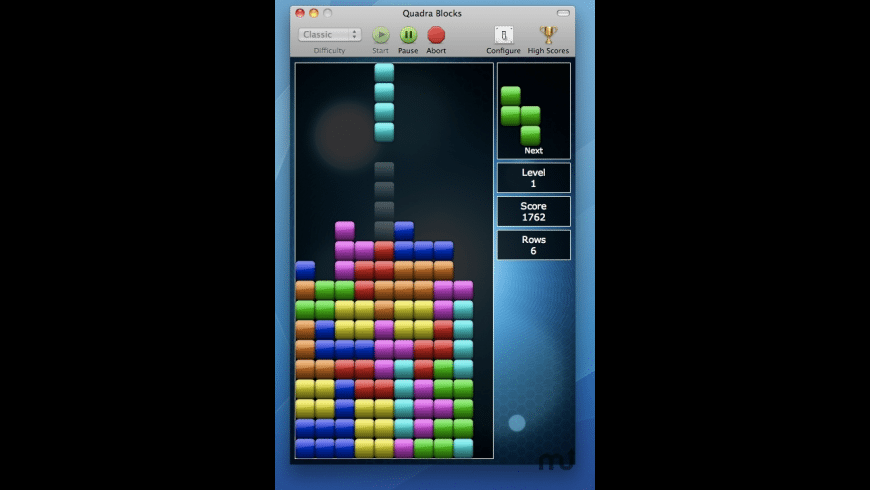 Quadra Blocks for Mac - review, screenshots