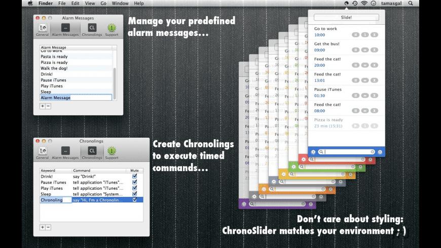 ChronoSlider for Mac - review, screenshots