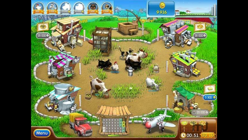 Farm Frenzy Pizza Party for Mac - review, screenshots