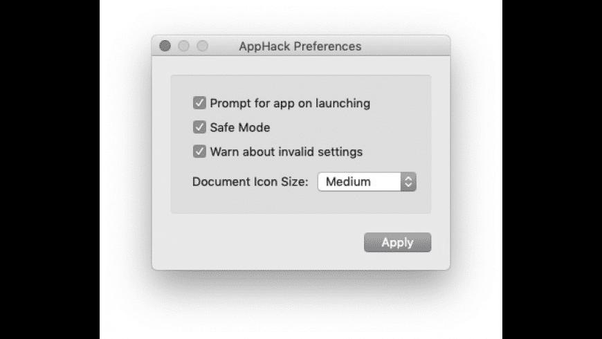 AppHack for Mac - review, screenshots