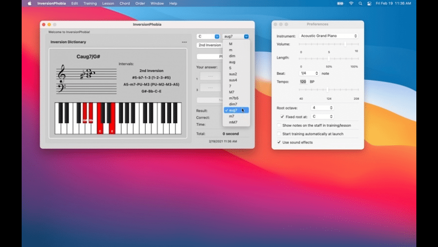 InversionPhobia for Mac - review, screenshots