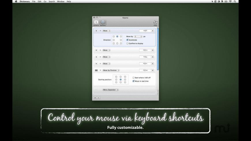 Keymo for Mac - review, screenshots