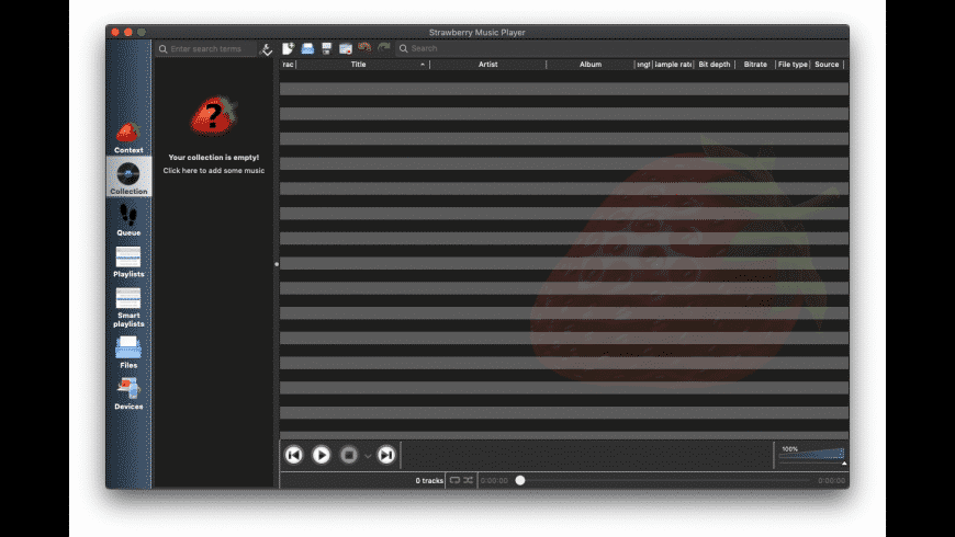 Strawberry for Mac - review, screenshots