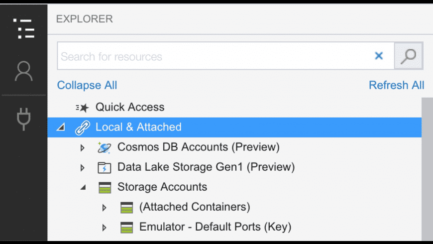 Microsoft Azure Storage Explorer for Mac - review, screenshots