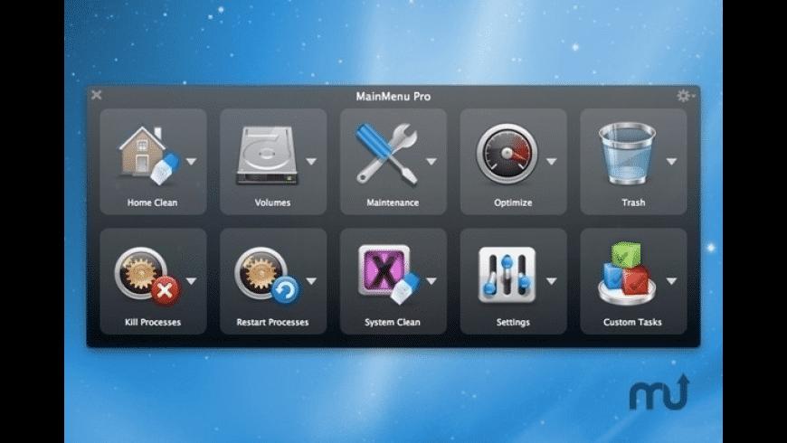 MainMenu Pro for Mac - review, screenshots