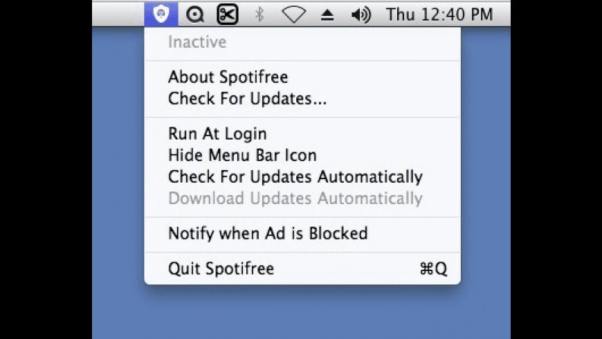 Spotifree for Mac - review, screenshots