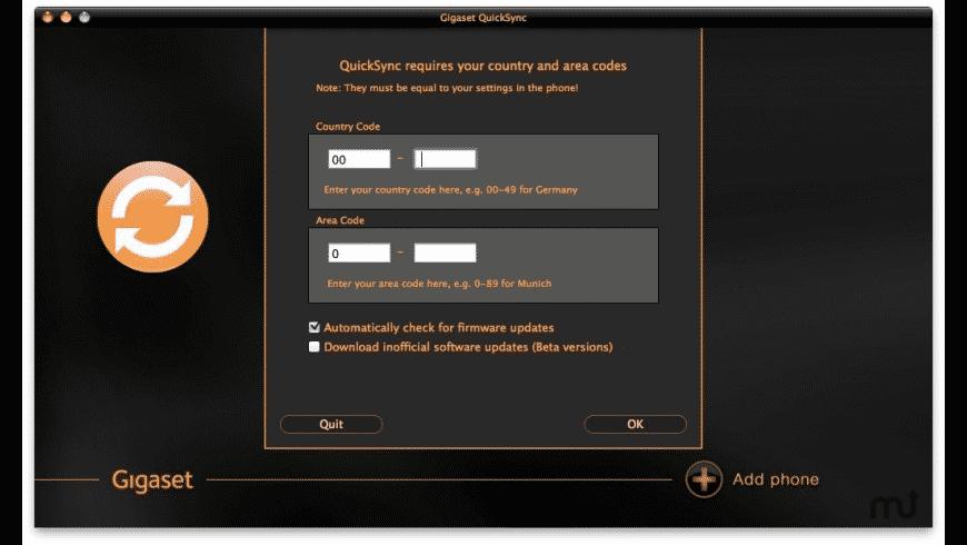 QuickSync for Mac - review, screenshots