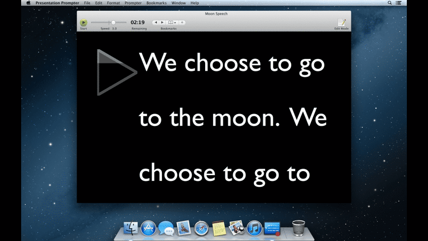 Presentation Prompter for Mac - review, screenshots