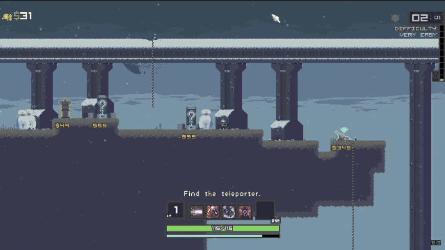 Risk of Rain for Mac - review, screenshots